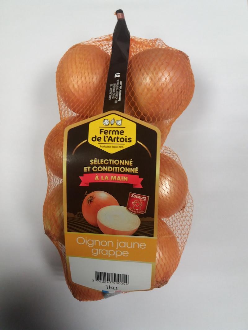 Oignons jaunes Prestige